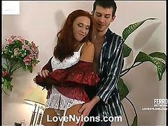 Christiana&Mark red hot nylon action