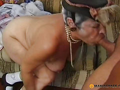 Woman doing blowjob guy