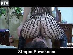Madeleine&Jack strapon abuse movie