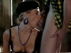 Star of porn 1980 Nina Hartley shows her best