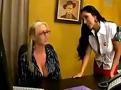 Nina Mercedez and Abbey Brooks are in to licking pussy this day