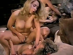 Group vintage sex in most provocative style