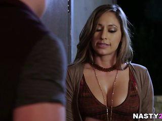 Reena Sky Needs Body To Body Contact!