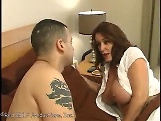 Rachel steele has a fine fuck with here son