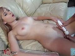 Molly Bennett's First Squirt