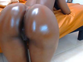 Beautiful hard clitoris and bubble butt