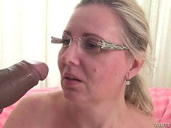 cute blonde granny takes a bbc @ i wanna cum inside your grandma #11, scene #04