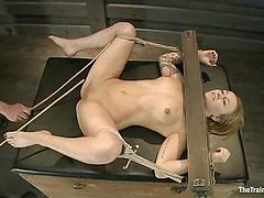 Slave Training Jessie Cox<br>Full Anal Annihilation for the First Time