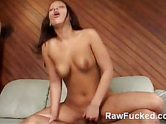 Kara Rides a Cock on the Couch