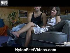 Viola&Lesley amazing nylon feet movie
