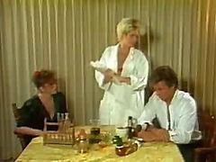 Classic Porn Mature Kitchen Scene