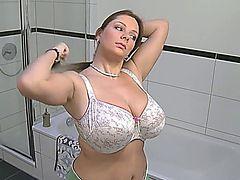 Sexy Big Boob Brunette!!!!!