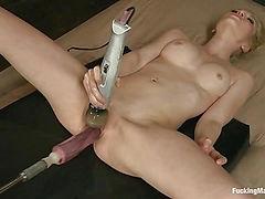 Small Lady, Big Cocks, Bigger Sex Machines