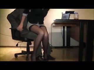 Secretary groped