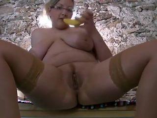 Hottest Homemade clip with BBW, Masturbation scenes