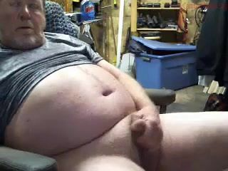 Straight Country Daddy Busts a Fat Old Nut