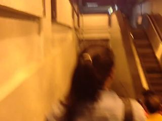 Cum on unsuspected girl, lechazo agitado metro