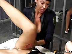 In her tender pussy with his tongue breaks