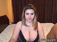 Hot BBW wife gets doggy fucked hard