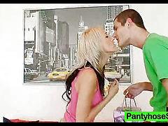Unsatisfied amateurs nylon pantyhose addiction
