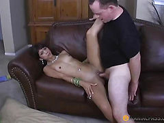 From bitch fucked cumshot on her body
