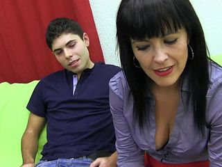 Nastyplace.org - Spanish Mature Woman And Young Amigo