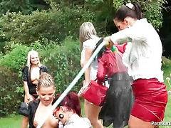 Lesbian garden party