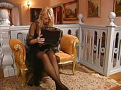 Vivian Schmitt Black Stockings Fuck Action