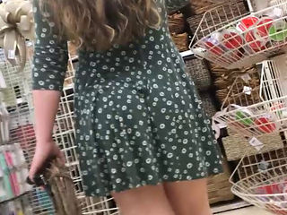20yr Old Pawg Upskirt - No Panties