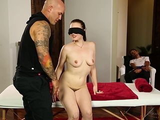 Charming babe with hot ass refined doggystyle superbly