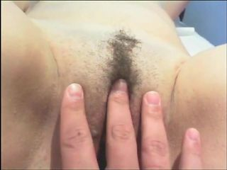 Playing with wet pussy of cuck