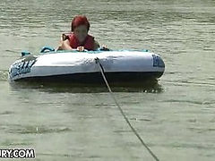 A Different Type of Water Sport