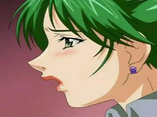 Sexy Hentai Schoolgirl Deepthroats Huge Cock