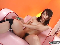 Arisa Suzuki blowjob and fuck