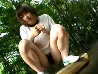JPN Joshi Kousei Public-Bukkake Girl Vintage  1
