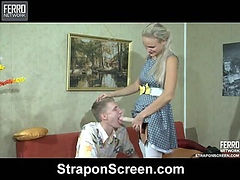 Dolly&Connor frisky strapon action