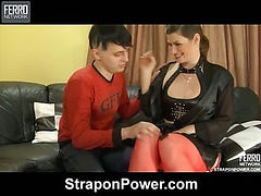 Gloria&Maurice strapon abuse movie