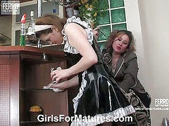 Elisabeth&Ninette pussyloving mature in action