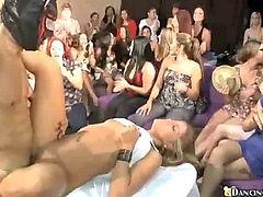 Watching their friend fucking and getting facial (na  Dancing Bear)