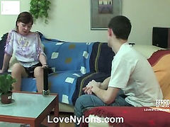 Sibylla&Lewis red hot nylon movie