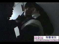 Japan beautiful women open the door