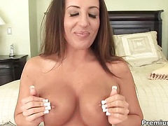 Richelle Ryan getting her mouthfuls