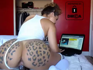 Hot Camgirl Huge Bbc Workout Training
