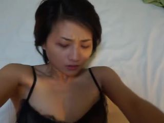 Chinese prostitute in stockings fucked by John.