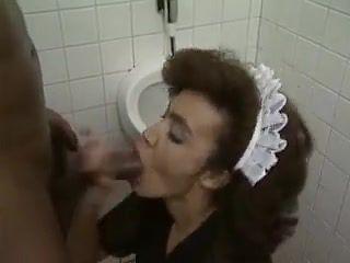 Black maid suck big black cock