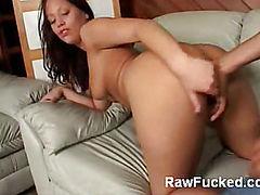 Kara Warren Does a Striptease