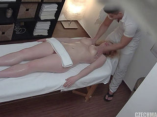 Czech Blond Gets A Sensual Massage And A Hot Fuck