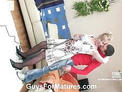 Silvia&Lewis seductive mom on video