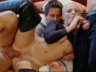 Hottest pornstar Bobbi Eden in horny cunnilingus, blonde adult clip