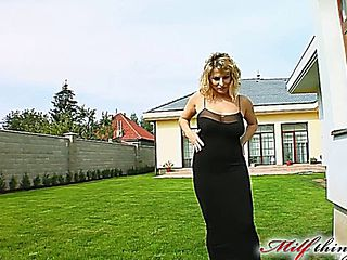 Big Titted Milf Takes On Two Guys In The Ass